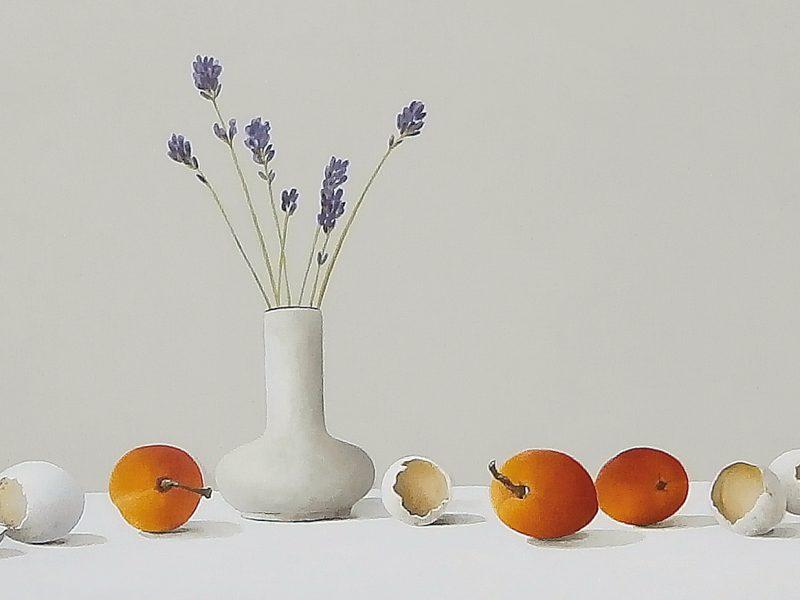 eitjes en abrikozen