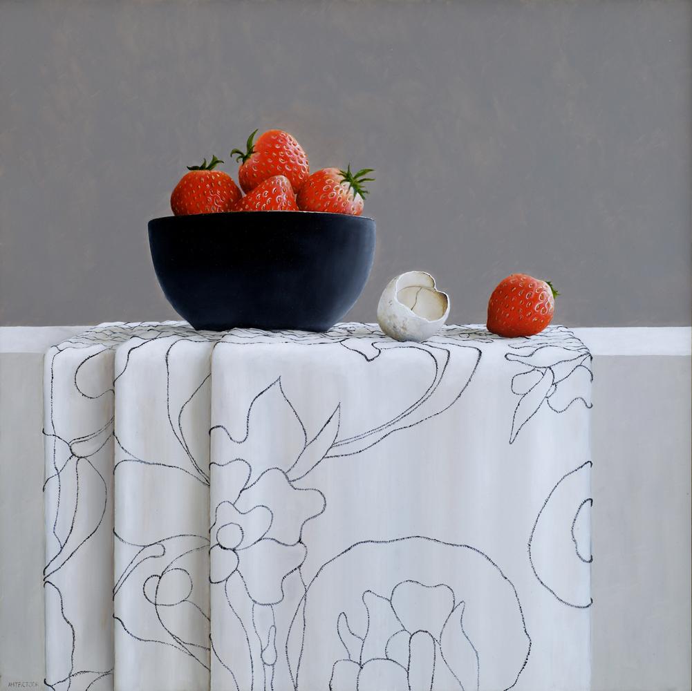 aardbeien en het verlaten ei