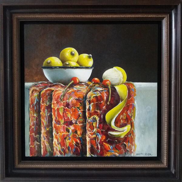 citroenen & tafelkleed