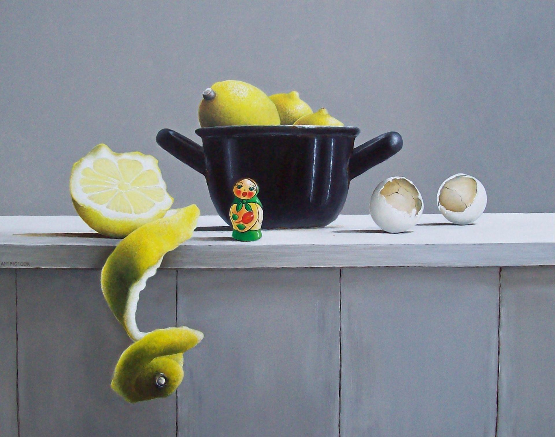 stilleven_matroesjka en citroenen_AMT_FICTOOR