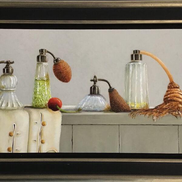antieke parfumflesjes